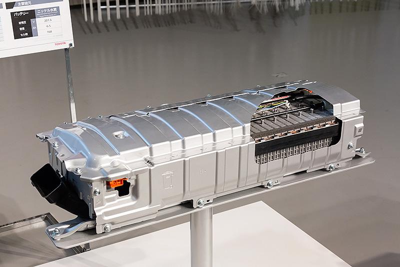 ニッケル水素バッテリーカットモデル
