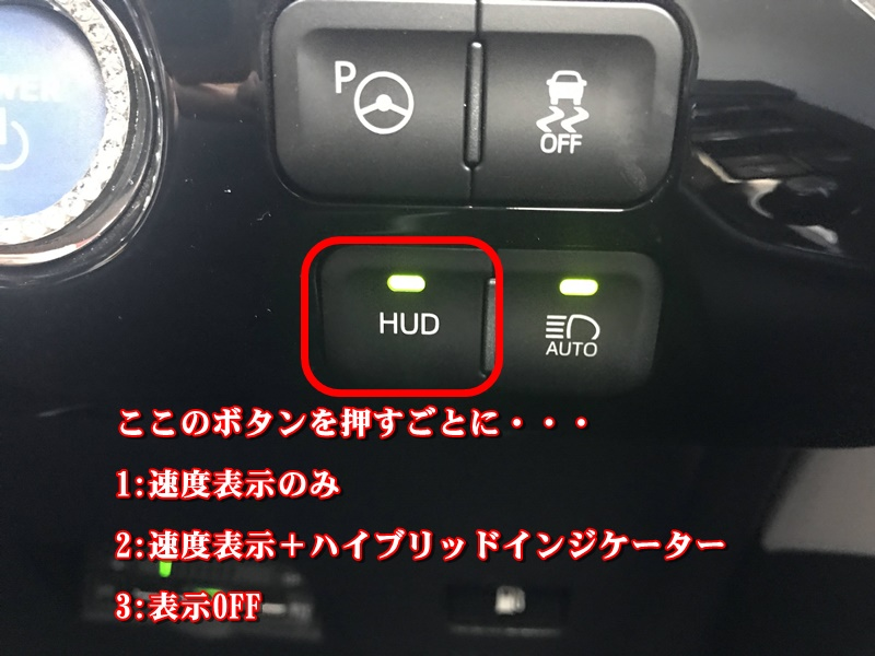 HUD表示切替方法